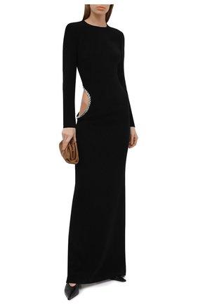 Женское платье MONOT черного цвета, арт. DR2003 | Фото 2