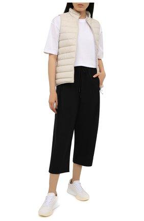 Женские брюки Y-3 черного цвета, арт. GV0350/W | Фото 2