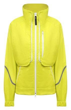Женская комплект из куртки и жилета ADIDAS BY STELLA MCCARTNEY желтого цвета, арт. GL7478 | Фото 1