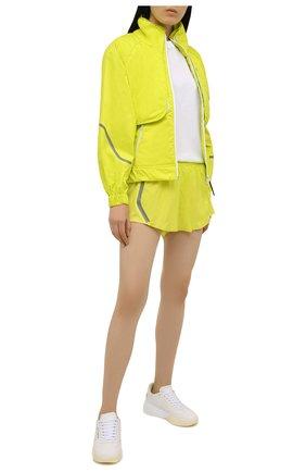 Женская комплект из куртки и жилета ADIDAS BY STELLA MCCARTNEY желтого цвета, арт. GL7478 | Фото 2