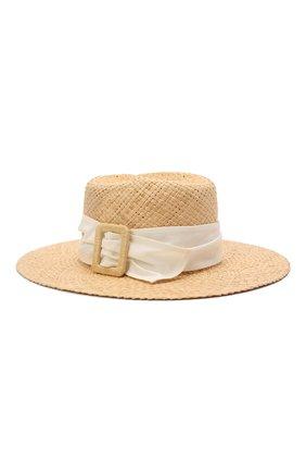 Женская шляпа virginie MAISON MICHEL светло-бежевого цвета, арт. 1001153001/VIRGINIE | Фото 1