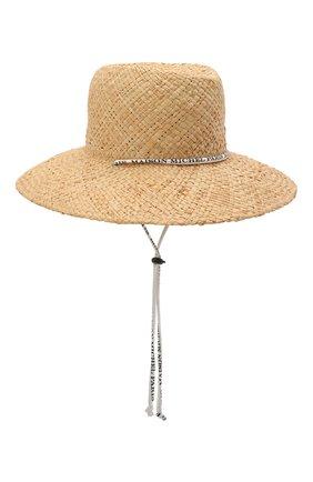 Женская шляпа kate MAISON MICHEL светло-бежевого цвета, арт. 1009065001/KATE | Фото 1
