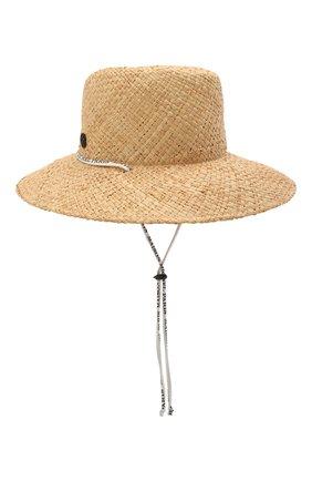 Женская шляпа kate MAISON MICHEL светло-бежевого цвета, арт. 1009065001/KATE | Фото 2