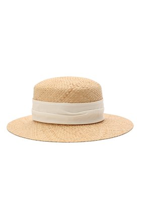 Женская шляпа new kendall MAISON MICHEL светло-бежевого цвета, арт. 1064043001/NEW KENDALL | Фото 2