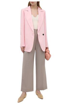 Женский жакет из вискозы и льна PROENZA SCHOULER розового цвета, арт. R2122002-AY133 | Фото 2
