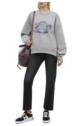 Женские кожаные кроссовки h562 HOGAN черного цвета, арт. HXW5640DN60NCR | Фото 2