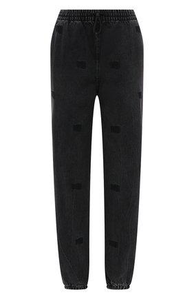 Женские джинсы DENIM X ALEXANDER WANG темно-серого цвета, арт. 4DC2214933   Фото 1