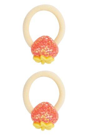 Детская комплект из двух резинок JUNEFEE желтого цвета, арт. 6852 | Фото 1