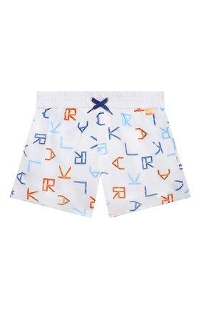 Детские плавки-шорты KARL LAGERFELD KIDS разноцветного цвета, арт. Z20056   Фото 1