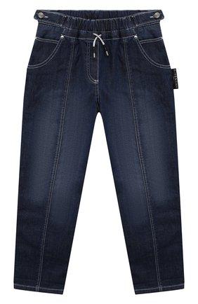 Детские джинсы GIVENCHY голубого цвета, арт. H14127 | Фото 1 (Материал внешний: Хлопок; Кросс-КТ: джинсы; Ростовка одежда: 10 - 11 лет | 140 - 146см, 12 лет | 152 см, 5 лет | 110 см, 6 лет | 116 см, 8 лет | 128 см)