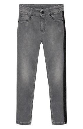 Детские джинсы GIVENCHY серого цвета, арт. H24112   Фото 1
