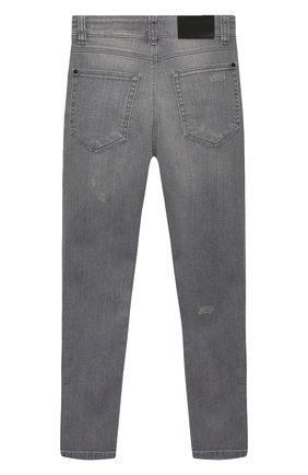 Детские джинсы GIVENCHY серого цвета, арт. H24112   Фото 2