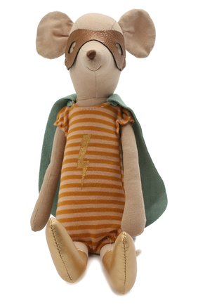 Детского игрушка мышка супергерой MAILEG разноцветного цвета, арт. 16-0753-00 | Фото 1