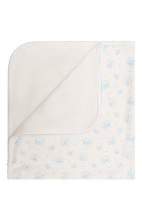 Детского хлопковое одеяло KISSY KISSY голубого цвета, арт. KB7056570 | Фото 1