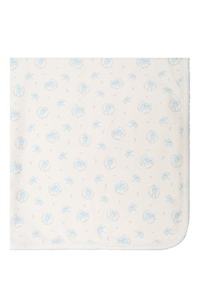 Детского хлопковое одеяло KISSY KISSY голубого цвета, арт. KB7056570 | Фото 2