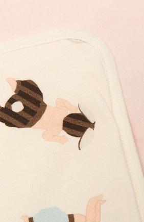 Детского хлопковое одеяло FENDI розового цвета, арт. BUJ162/ST8   Фото 2