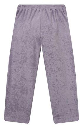 Детские хлопковые брюки PAADE MODE сиреневого цвета, арт. 21218543/10Y-14Y | Фото 2