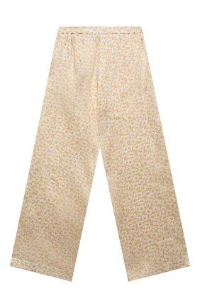 Детские шелковые брюки PAADE MODE желтого цвета, арт. 21218052/10Y-14Y | Фото 2