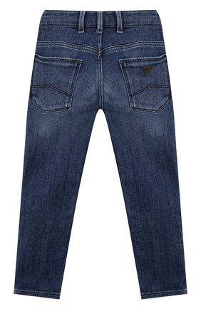 Детские джинсы EMPORIO ARMANI синего цвета, арт. 3K4J06/4D2JZ | Фото 2