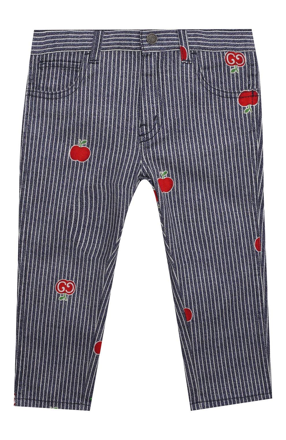 Детские джинсы GUCCI голубого цвета, арт. 652638/XDBKY   Фото 1