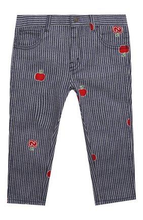 Детские джинсы GUCCI голубого цвета, арт. 652638/XDBKY | Фото 1