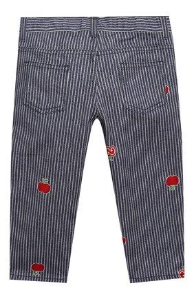 Детские джинсы GUCCI голубого цвета, арт. 652638/XDBKY | Фото 2