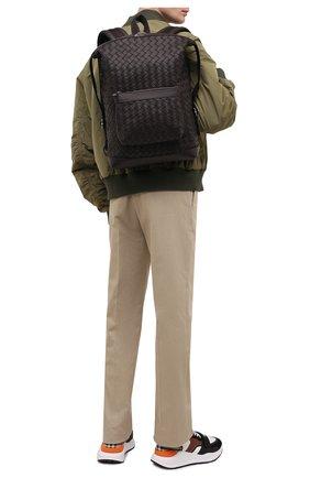 Мужской кожаный рюкзак BOTTEGA VENETA темно-коричневого цвета, арт. 653118/V0E54 | Фото 2