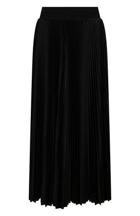 Женская плиссированная юбка BALENCIAGA черного цвета, арт. 659068/TJV20 | Фото 1