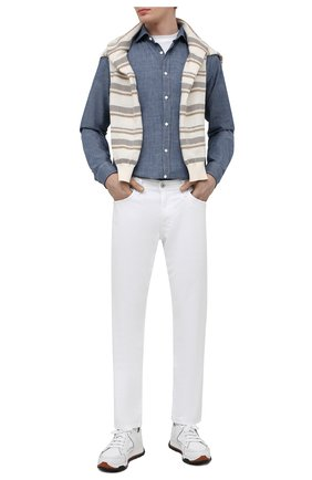 Мужские джинсы AG белого цвета, арт. 1174SUD/WHT/MX | Фото 2