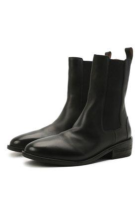 Мужские кожаные челси MARSELL черного цвета, арт. MM4190/PELLE VITELL0 | Фото 1