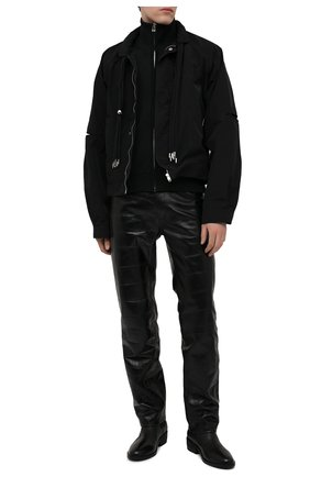 Мужские кожаные челси MARSELL черного цвета, арт. MM4190/PELLE VITELL0 | Фото 2