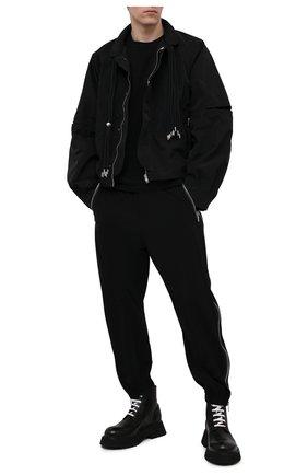 Мужские кожаные ботинки MARSELL черного цвета, арт. MM4186/PELLE VITELL0 | Фото 2