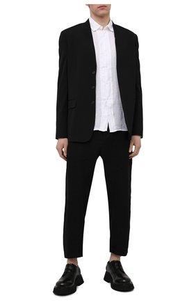 Мужские кожаные дерби MARSELL черного цвета, арт. MM4185/PELLE VITELL0 | Фото 2