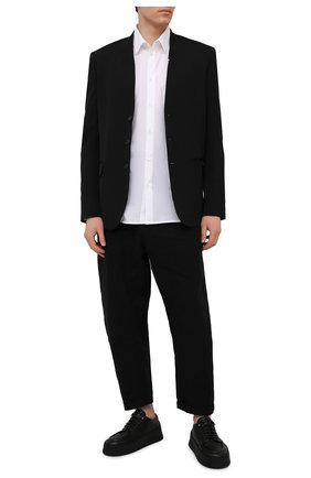 Мужские кожаные дерби MARSELL черного цвета, арт. MM4130/PELLE V0L0NATA | Фото 2