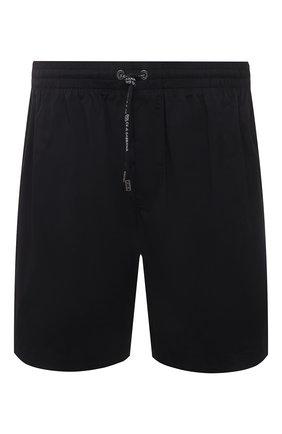 Мужские плавки-шорты DOLCE & GABBANA черного цвета, арт. M4A13T/FPUAB | Фото 1