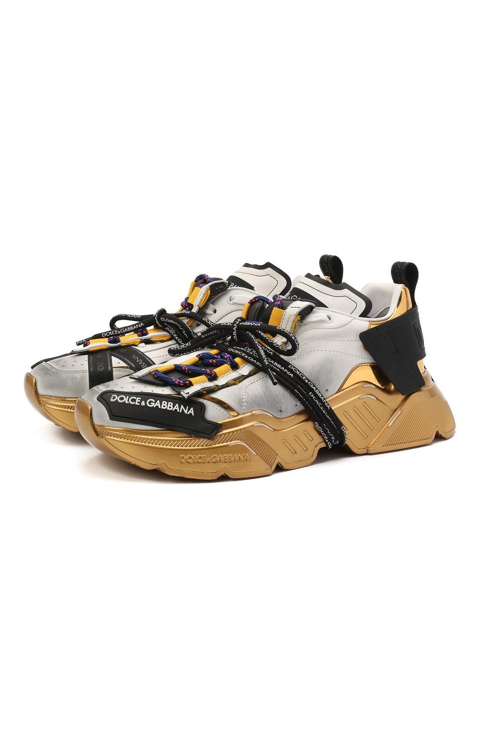 Мужские комбинированные кроссовки daymaster DOLCE & GABBANA разноцветного цвета, арт. CS1829/AW820 | Фото 1