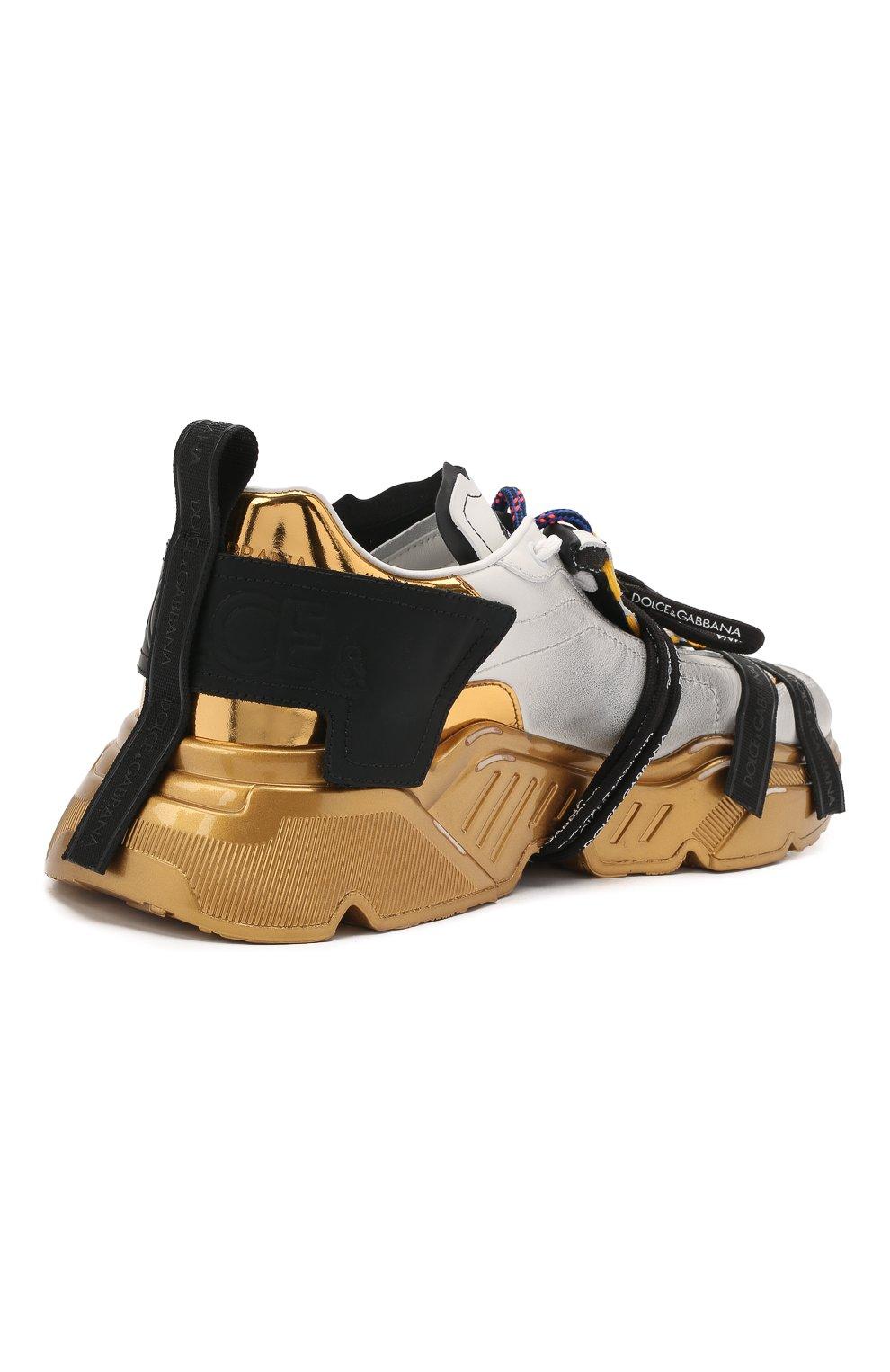 Мужские комбинированные кроссовки daymaster DOLCE & GABBANA разноцветного цвета, арт. CS1829/AW820 | Фото 4