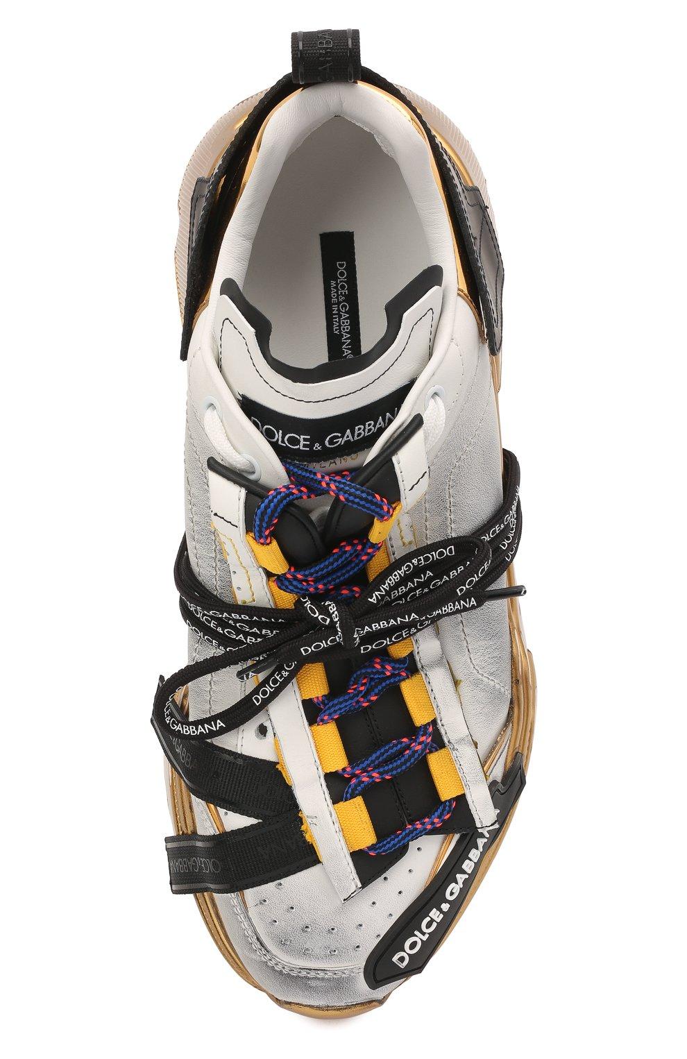 Мужские комбинированные кроссовки daymaster DOLCE & GABBANA разноцветного цвета, арт. CS1829/AW820 | Фото 5