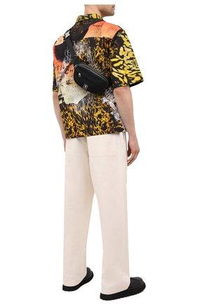 Мужская текстильная поясная сумка NEIL BARRETT черного цвета, арт. PBB0293B Q9100 | Фото 2