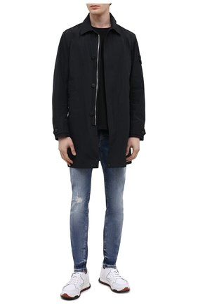 Мужские джинсы 7 FOR ALL MANKIND синего цвета, арт. JSMVB500PH | Фото 2