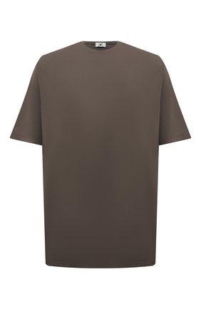 Мужская хлопковая футболка KIRED хаки цвета, арт. WBACI0MW732100200F/64-74 | Фото 1