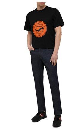 Мужские кожаные кроссовки byllet BALLY черного цвета, арт. BYLLET/00 | Фото 2