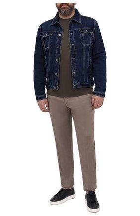 Мужские брюки MARCO PESCAROLO светло-коричневого цвета, арт. CHIAIAM/4306 | Фото 2