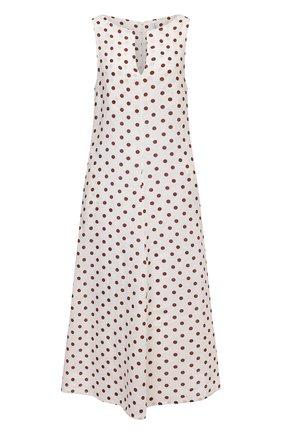 Женское льняное платье LA FABBRICA DEL LINO светло-бежевого цвета, арт. 10334 | Фото 1