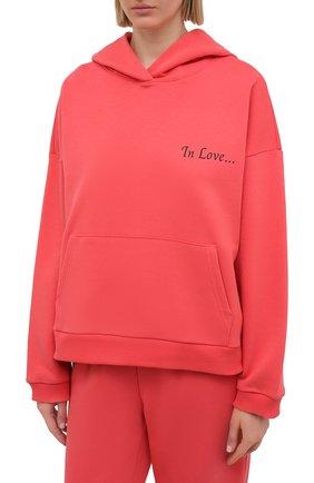 Женский хлопковый костюм SEVEN LAB оранжевого цвета, арт. HP20-IL coral   Фото 2