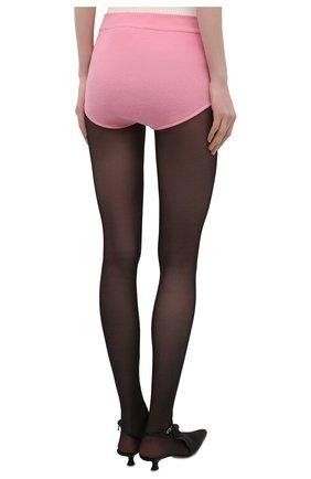 Женские шерстяные шорты BALMAIN розового цвета, арт. VF2CB005/K255 | Фото 4
