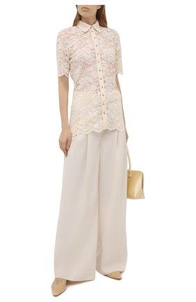 Женская блузка PACO RABANNE светло-бежевого цвета, арт. 21EJCE057PA0170 | Фото 2