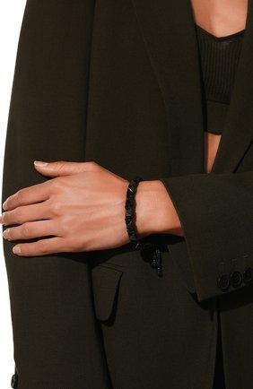 Женский браслет rockstud VALENTINO черного цвета, арт. VW0J0I02/ICT | Фото 2