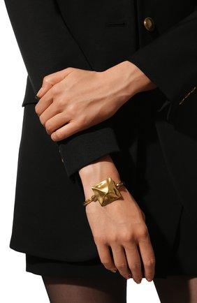 Женский браслет roman stud VALENTINO золотого цвета, арт. VW0J0I13/MET | Фото 2