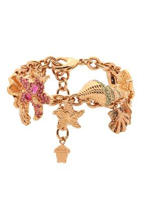 Женский браслет trésor de la mer VERSACE золотого цвета, арт. DG0I108/DJMX | Фото 1